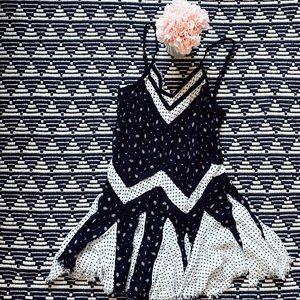 Free People Intimates & Sleepwear - Free People Intimate Black & White Dress